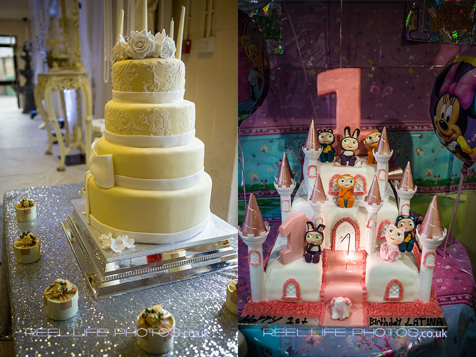 Asian and gipsy wedding cakes