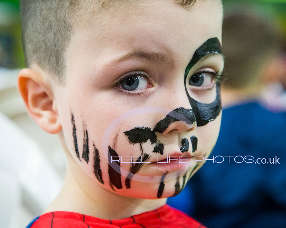 Gipsy party pictures in Wakefield  face painting