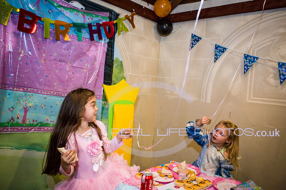 Latina's first birthday party at Cheeky Monkeys in Wakefield