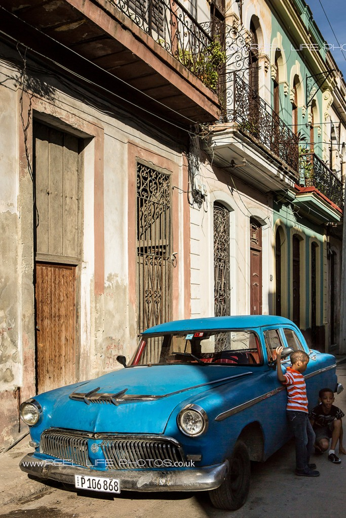 old Cuban cars in Havana