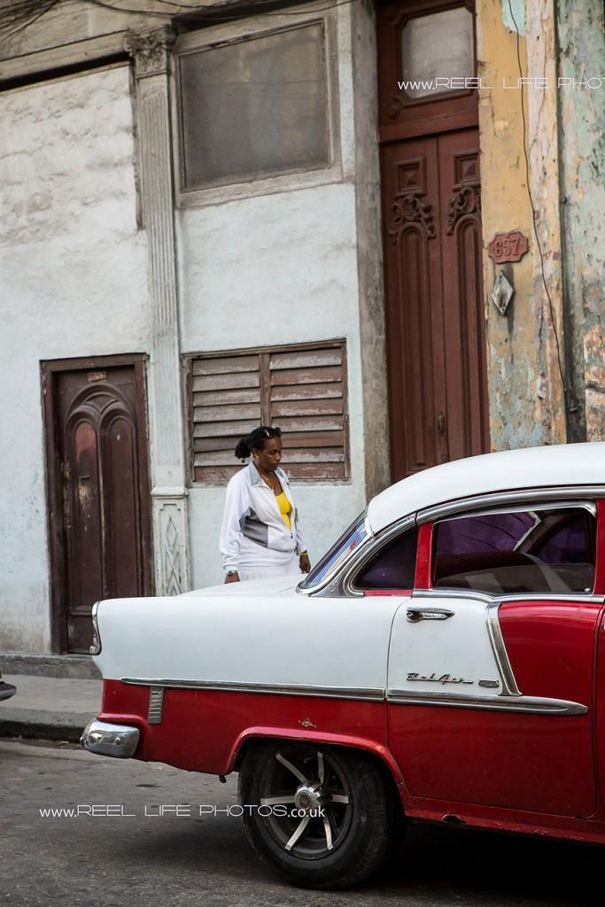 Cuban classic cars in old Havana