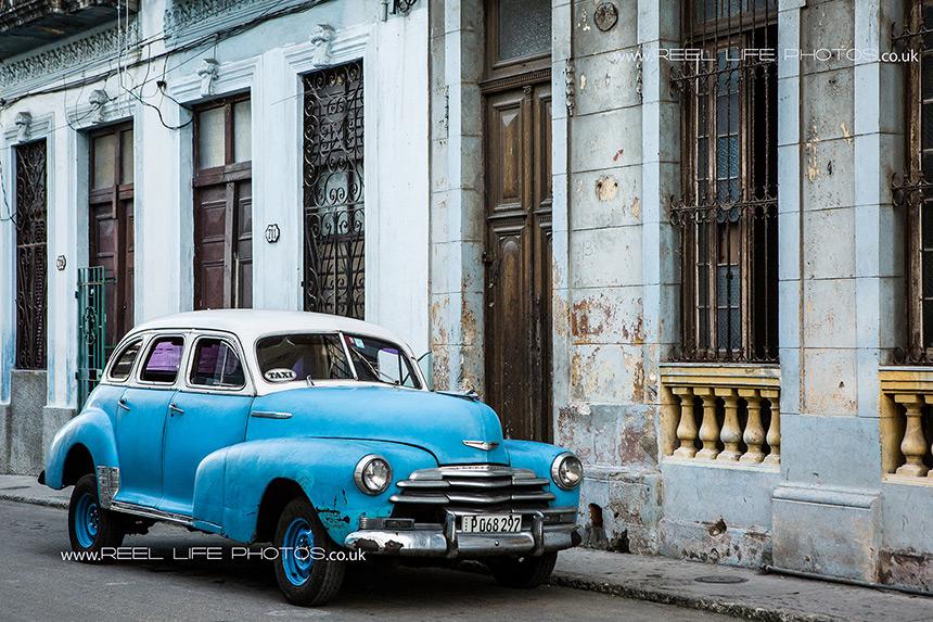 Cuban cars in old Havana, Cuba.