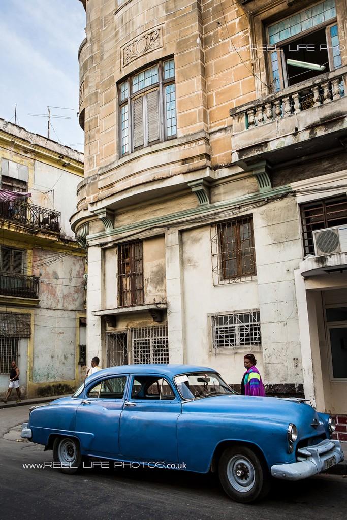 Real life in Cuba - Cuban cars in Havana