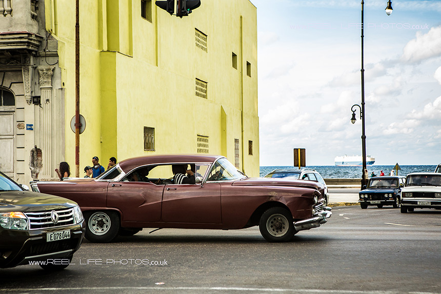 Classic Cadillac cars in Cuba