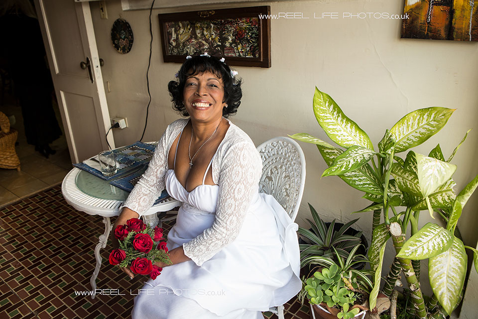 Real Cuban wedding in Havana , Cuba