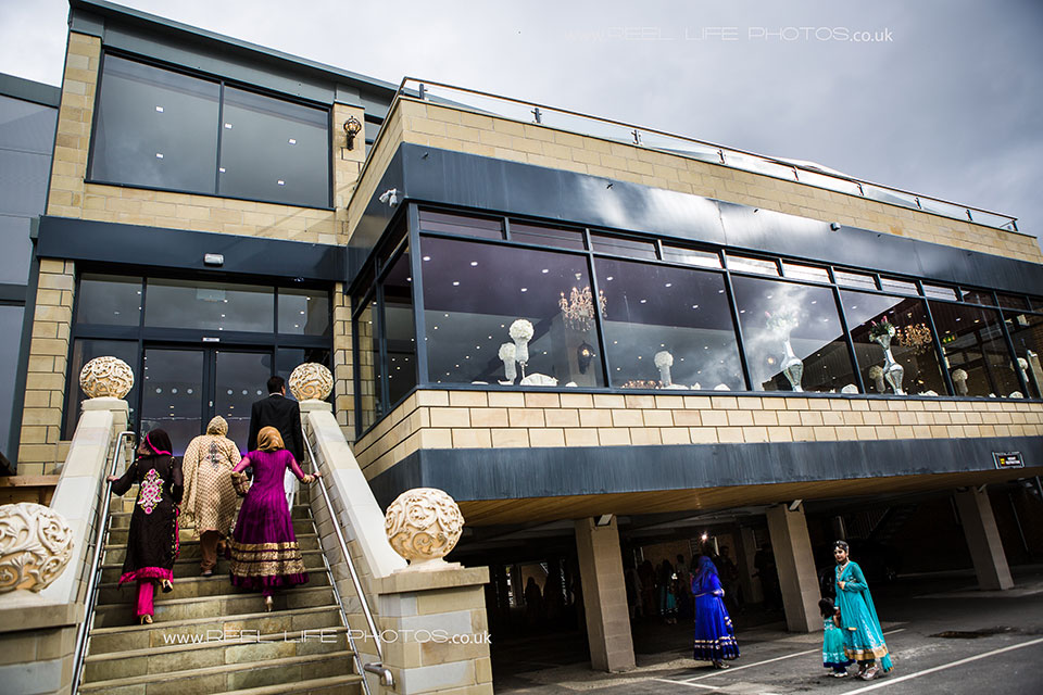 Picture of the outside of The Grand Banqueting Suite in Ravensthorpe, Dewsbury