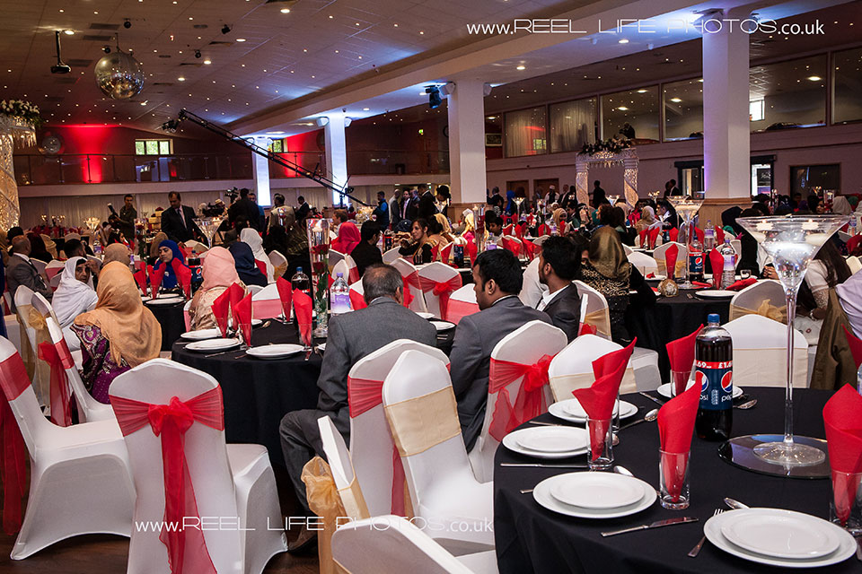 huge Asian wedding venue in Leicester