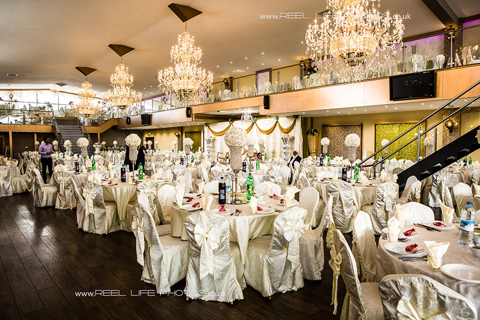Pictures of inside the Grand Banqueting Suite.
