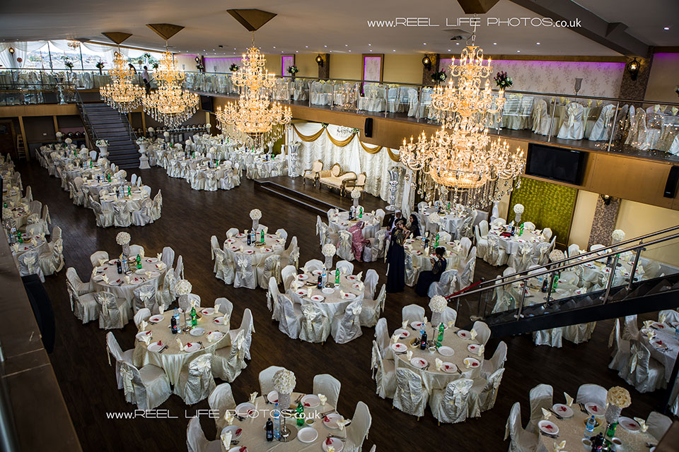 The Grand Banqueting Suite Asian wedding venue in West Yorkshire
