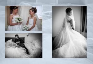 gipsy wedding storybook album