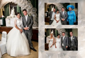 gipsy wedding cake - castle