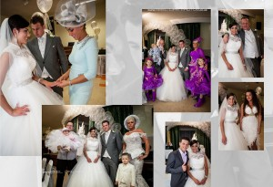 traditional posed wedding pictures