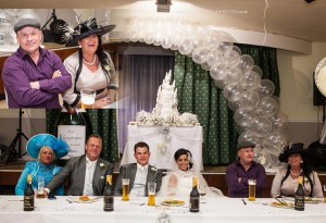 top table at gipsy weddimg