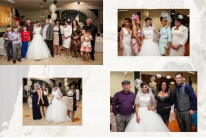 posed wedding pics