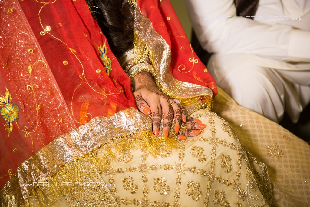 Muslim, Pakistani, Asian wedding Nikah - tAsian bride.