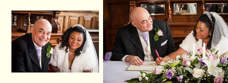 Wedding in Dewsbury by photographer Elaine of Reel Life Photos