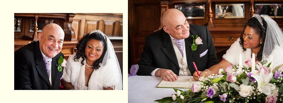 Wedding in Dewsbury by photographer Elaine of Reel Life Photos