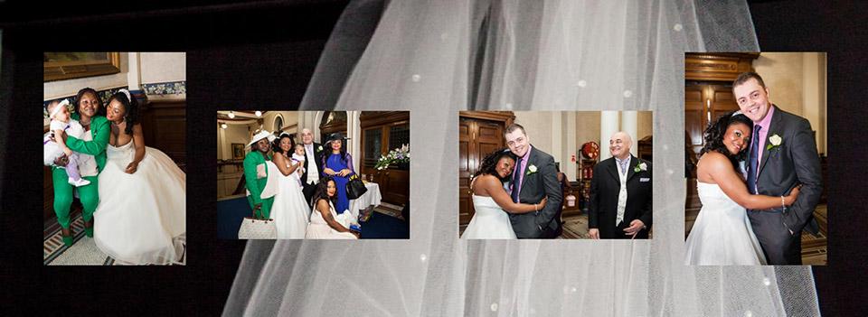 Italian wedding book photography and storybook design in Dewsbury