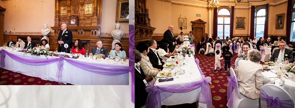 The groom's speech - wedding pics captured by Elaine of Reel Life Photos