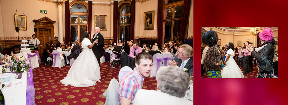 First dance wedding photography by Reel Life Photos in Dewsbury