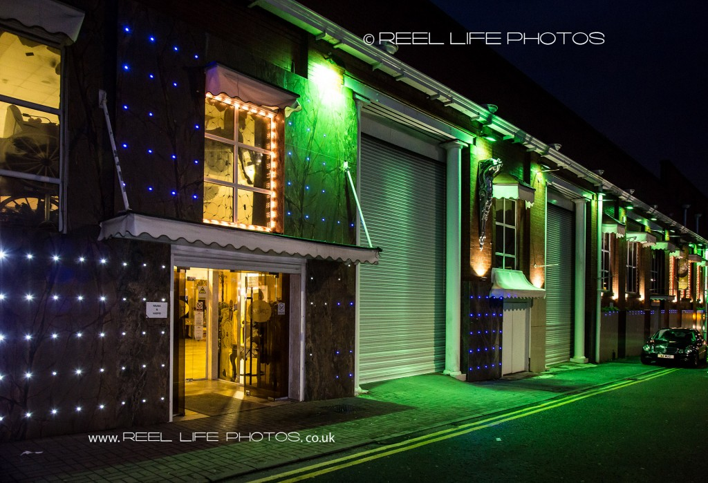 Exterior of Bolton Excellency at Night