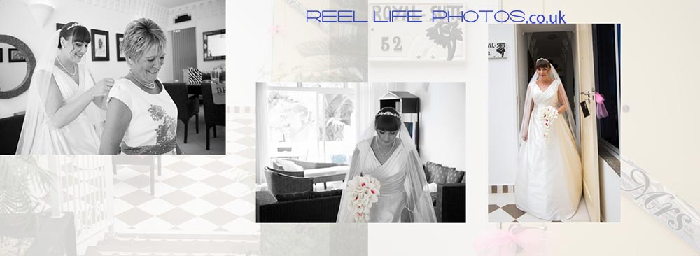 Natural Coco-Ocean-wedding-pictures in the Royal Suite