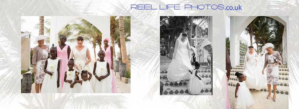 Gambian Engkish wedding at Coco-Ocean in The Gambia