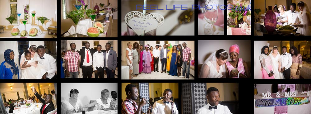Wedding reception at Coco Ocean Hotel and Spa in the Gambia