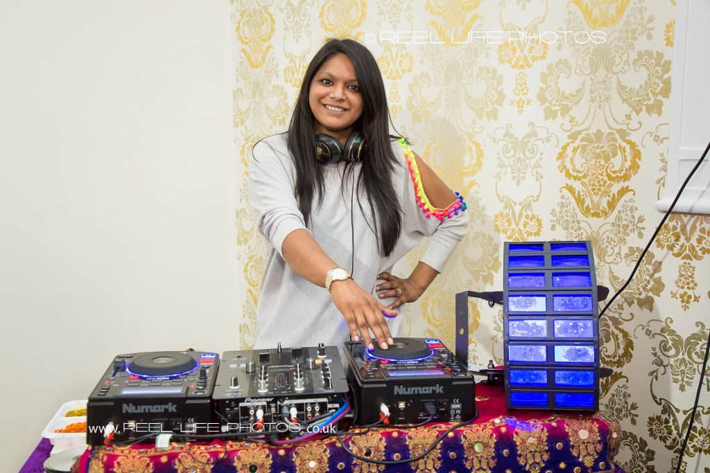 Female Asian DJ for Mehndi or weddings