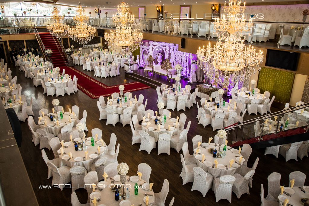 The Grand Banqueting Suite in West Yorkshire