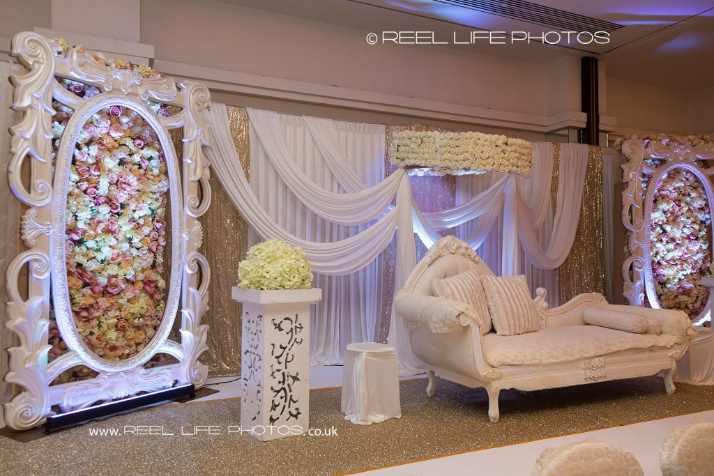 The Stage - Asian Arabic wedding photography in London