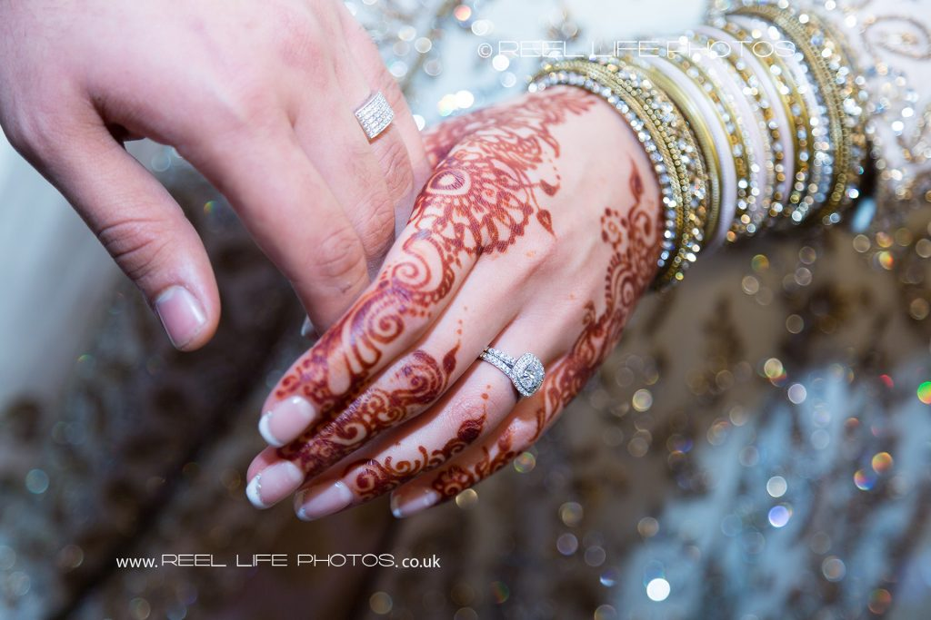 Arabic Asian wedding details