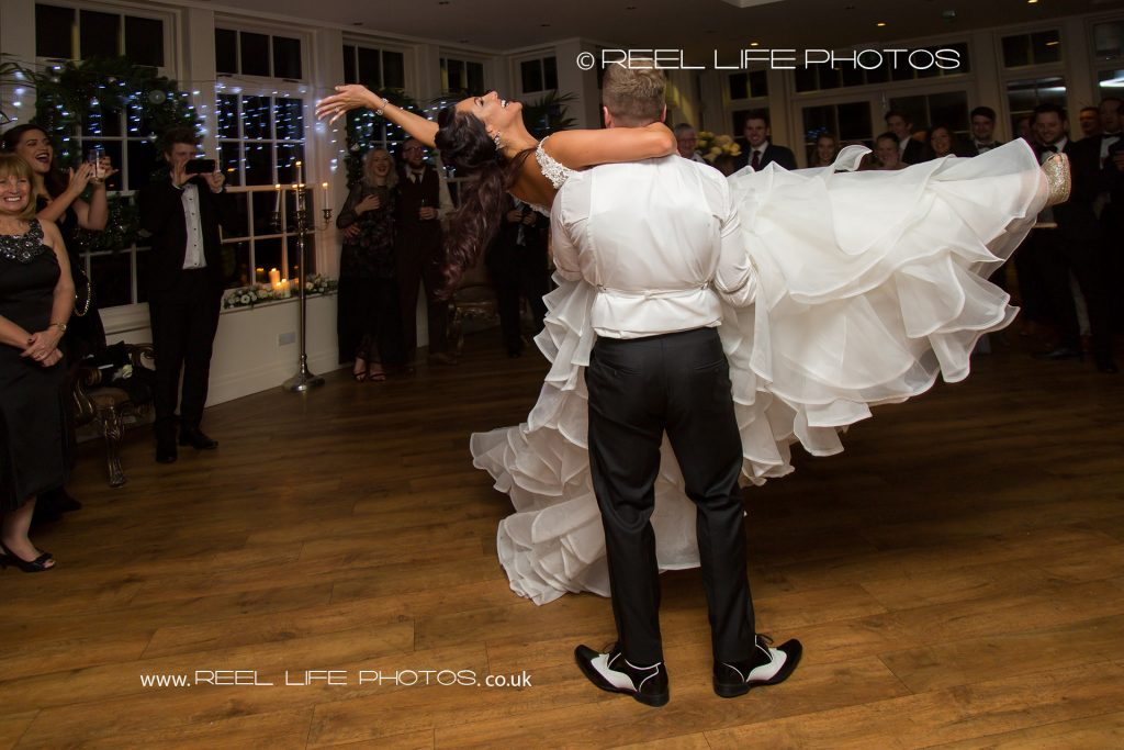 Fun wedding Mitton Hall wedding pictures