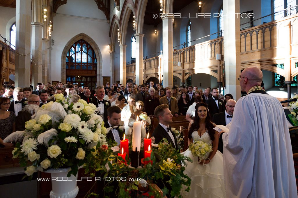 church wedding in Lancashire