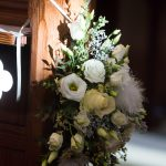 "Wedding flowers by ""The Gilded Lily"""
