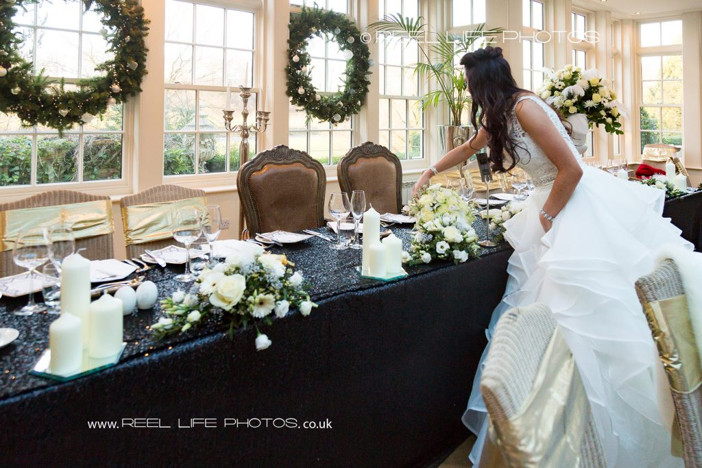 top table at Great Gatsby wedding