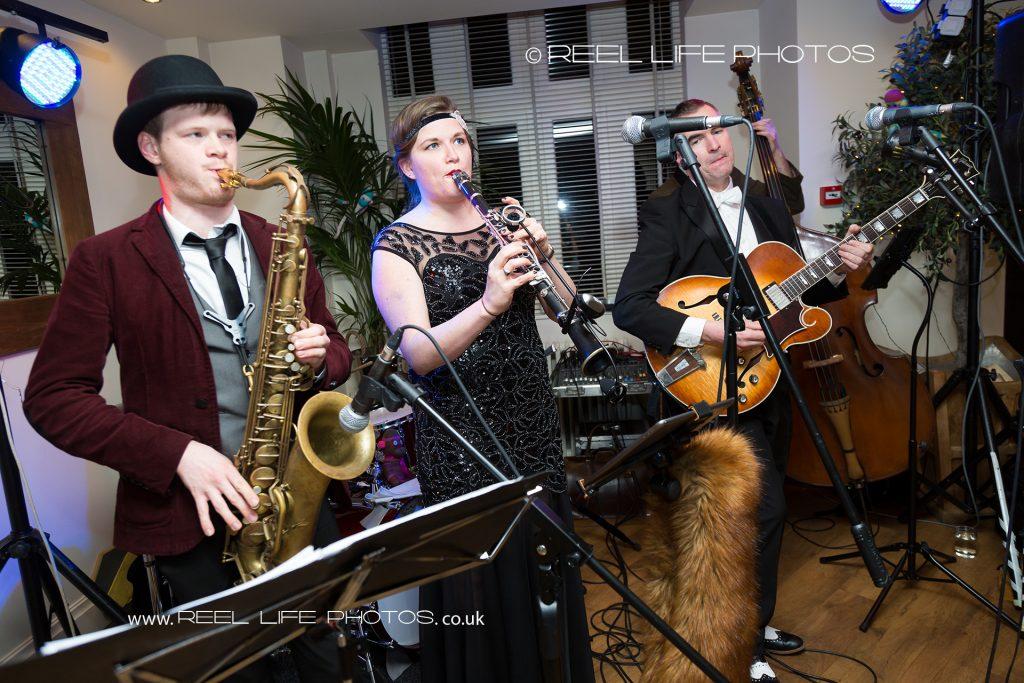 Black Sheikhs Band at Great Gatsby wedding