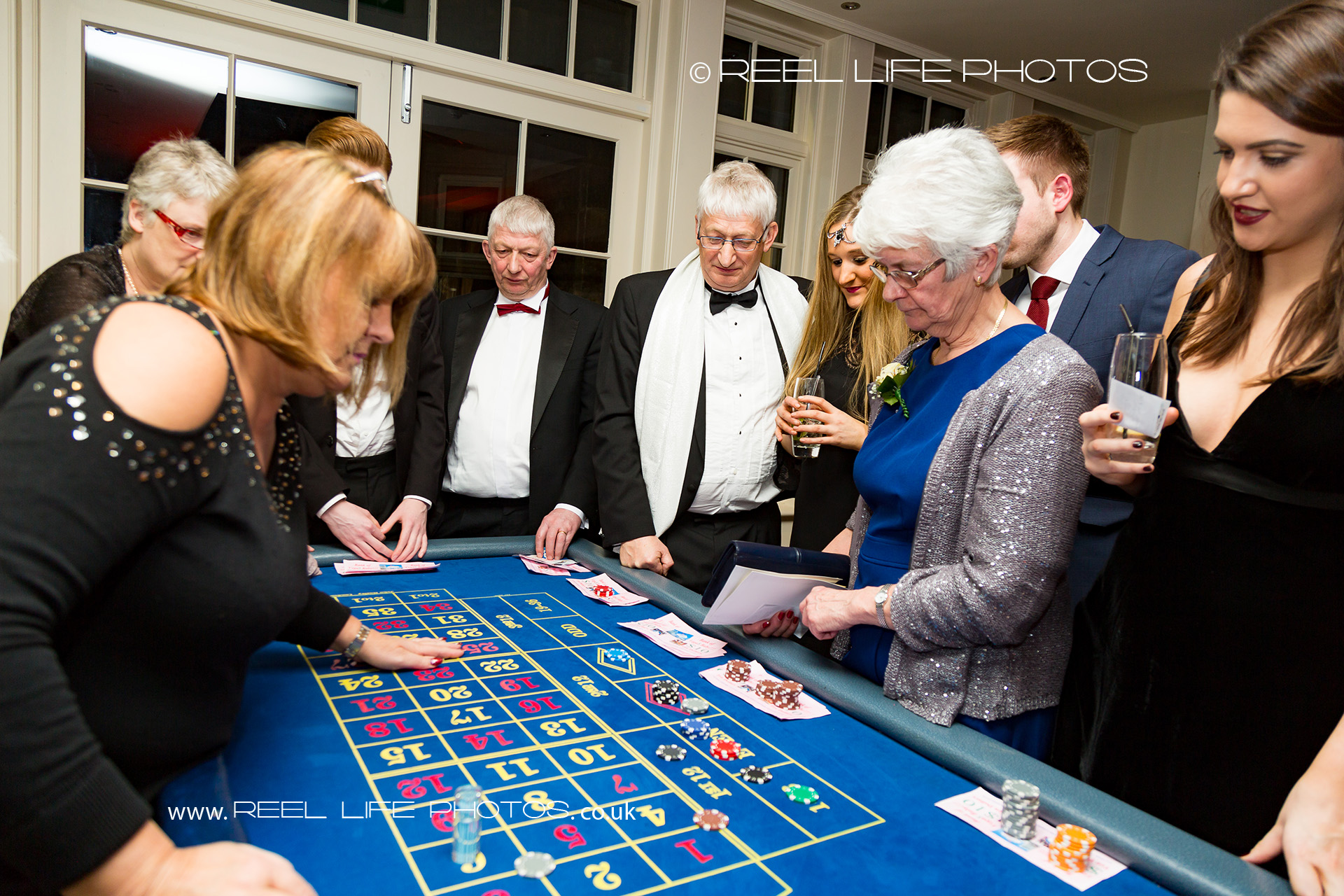 Wedding Casino at Mitton Hall