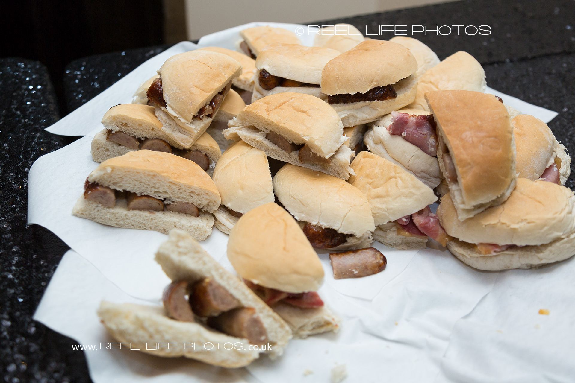 Now which is it to be?  Bacon or sausage butties?