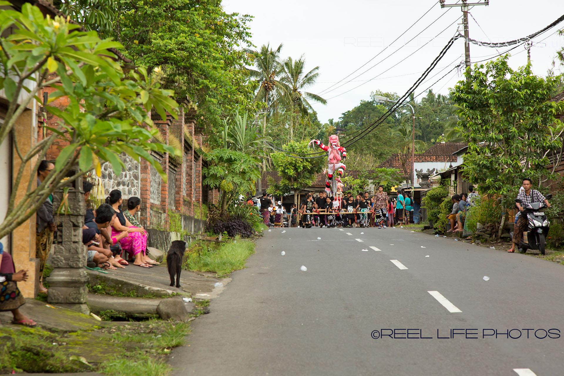 Ogoh-Ogoh parade in Karangasem, Bali