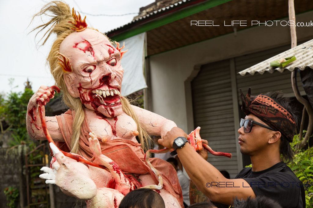 Gruesome Ogoh-Ogoh in Bali 2017 - Balinese custom at Nyepi