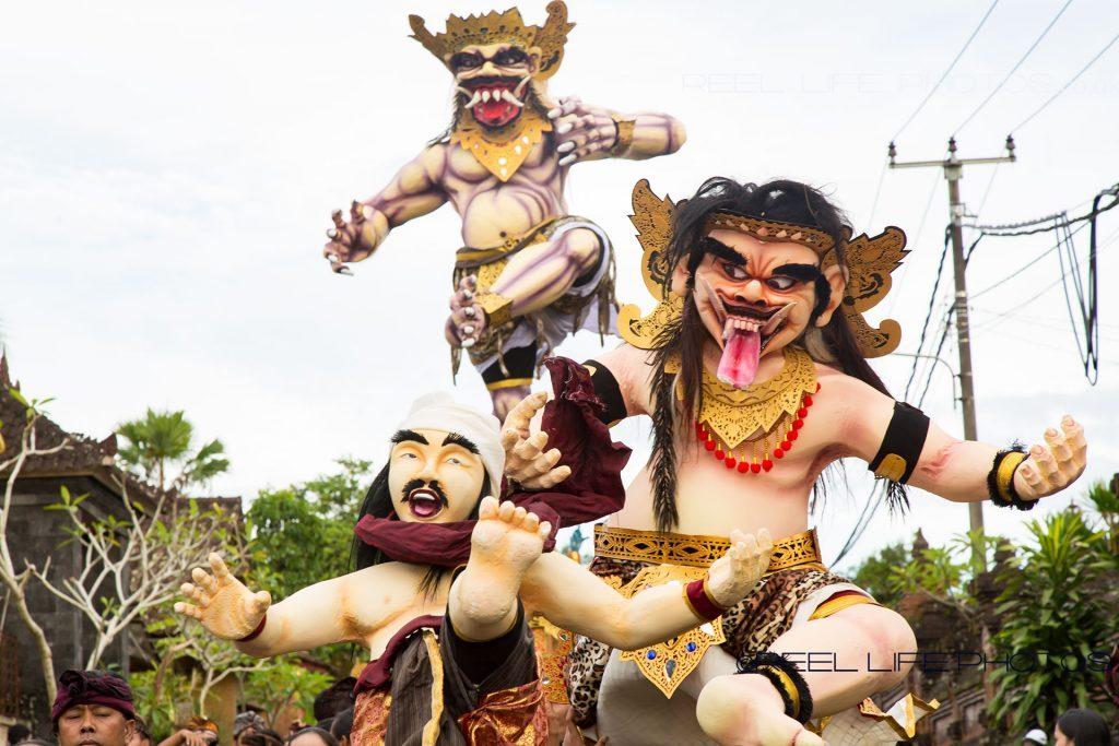 Nyepi in Bali - Ogoh-Ogoh