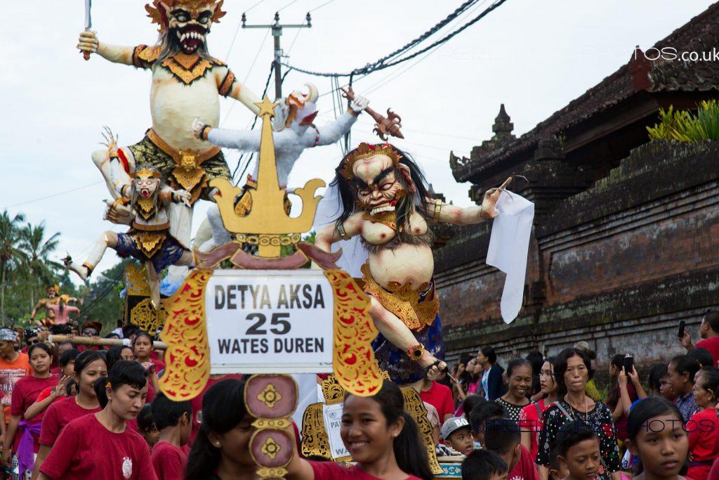 Detya Aska Ogoh-Ogoh at Nyepi in Bali