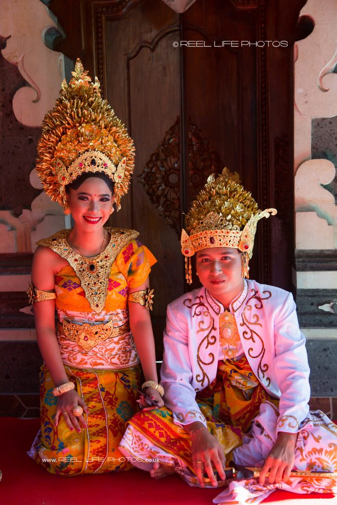 Balinese wedding in Bali