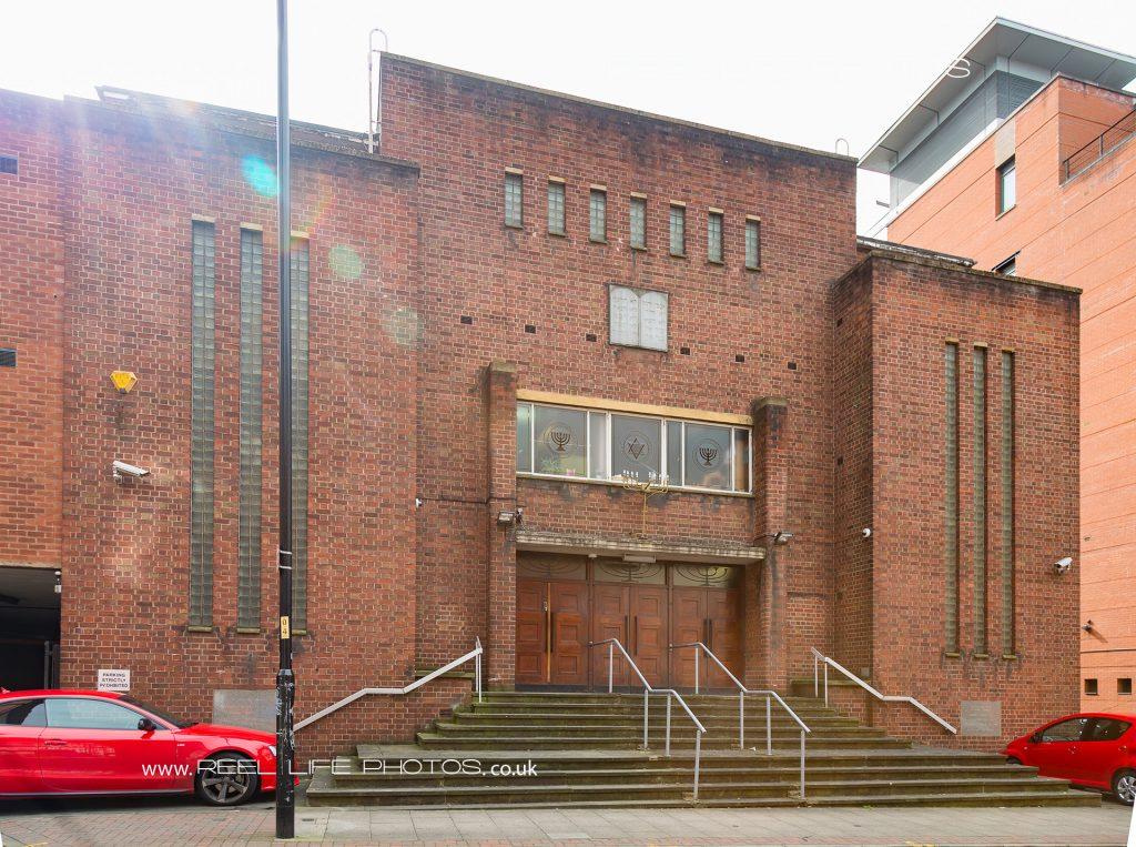 Jackson Row Synagogue exterior