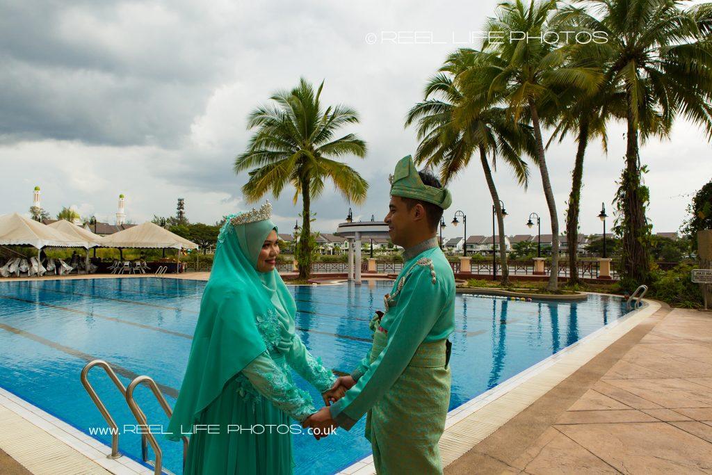 wedding photos at Kelab Merbok Laguna, Malaysia