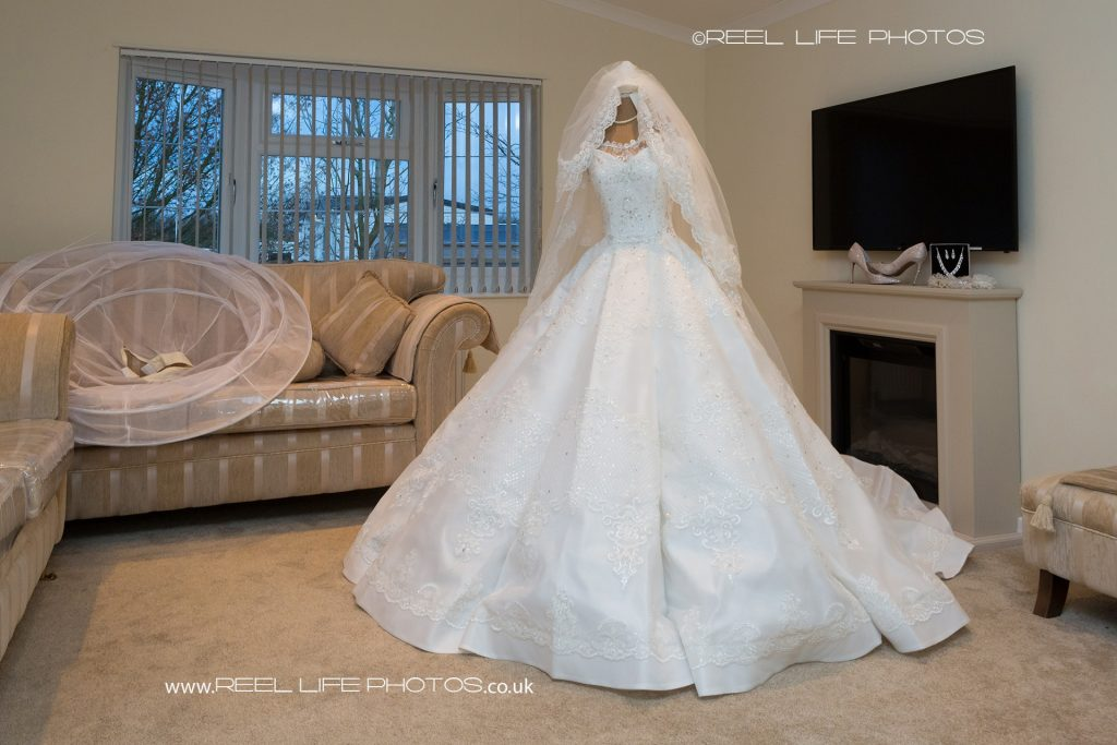 Traveller wedding dress