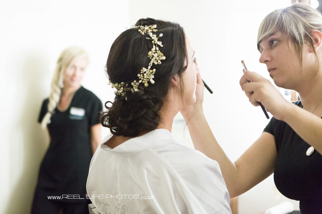 Bridal makeup and hair in Paphos