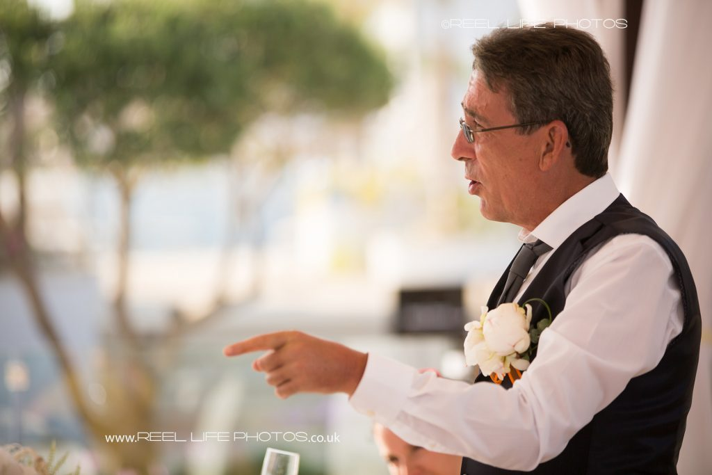 natural wedding photography at the Olympic Lagoon in Cyprus