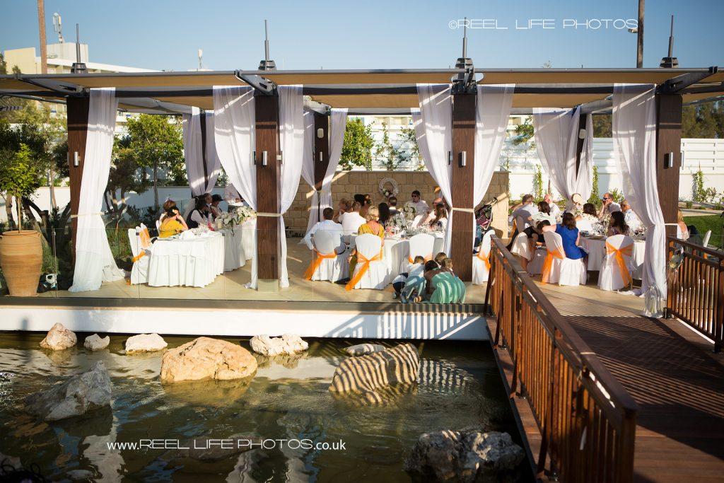 Olympic Lagoon wedding reception picture